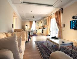 Open Kitchen And Living Room Designs Kitchen Integrated Apartment Interior With Open Kitchen Also