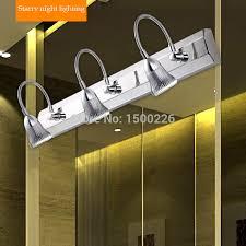 image plug vanity lights. Modern LED Mirror Light Stainless Steel 3/3 Plugs Bathroom Lamps Cabinet Decoration Wall Lamp Night Image Plug Vanity Lights