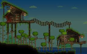 Terraria House Designs Home Design Image Ideas Terraria Village Ideas