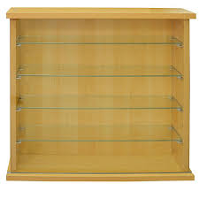 wall display cabinet with 4 glass