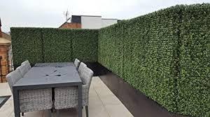 Amazon.com : <b>Artificial Topiary Hedge Plant</b> Privacy <b>Fence</b> Screen ...