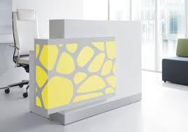 Organic Office Reception Desks Spectrum Organic Office Reality