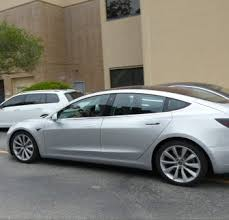 tesla new car releaseTesla Model 3 new highres shots of the latest silver release