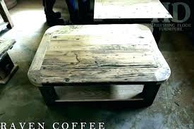 rounded corners table coffee edges round long coffee