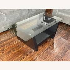 Explore the wide spectrum of modern wood and glass coffee table options on alibaba.com and save money while purchasing them. Wayborn Furniture Modern Black Wood And Glass Coffee Table Aptdeco