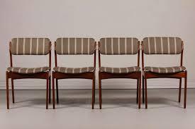mid century modern upholstered dining chair best of mid century od 49 teak dining chairs by erik buch for oddense scheme