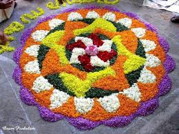 Simple Pookalam Design 50 Incredible Onam Pookalam Rangoli Design Pictures And Images