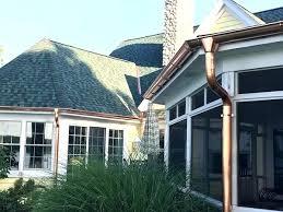 faux copper gutters. Exellent Gutters Faux Copper Gutters Gutter Leaf Guards  Rain Throughout Faux Copper Gutters T