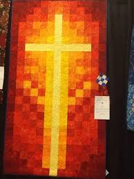 34 best Quilting, Crosses and Watercolor images on Pinterest ... & Church banner for Easter Sunday Adamdwight.com