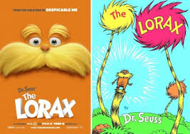 dr seuss lorax book pages