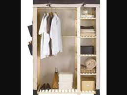argos canvas and wooden triple wardrobe with shelves