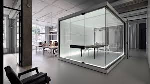 office space architecture. KIEV \u2013 Inspired By The Concept Of Paper Architecture, Soesthetic Group Designed Its Office Space As A Blank Canvas. Sterile Interior Drenched In White Architecture