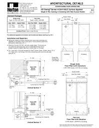 horton 4100 wiring diagram 4k wiki wallpapers 2018 Horton Automatic Door Wiring Diagram with Electric Strike at Horton Automatic Door Wiring Diagram
