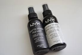 april 5 2016 here is another nyx review and this time on the new makeup setting sprays in both matte