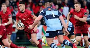 conor murray on the during munster s guinness pro14 win over cardiff blues at irish independent