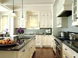 Off White Kitchen Cabinets Off White Cabinets Glazed With A Dark Kitchen  Island Black Pics White .