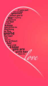 Love Quote Android wallpaper - Android ...