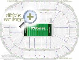 Metlife Seating Chart With Seat Numbers Arena Gwinnett