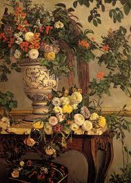 frederick bazille paintings flowers