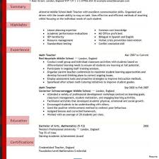 Free Teacher Resume Templates Education Resume Template Free Teacher Templates Download 1