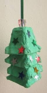 Christmas Tree From Egg Cartons  I Made It At Our School As A Christmas Crafts With Egg Cartons