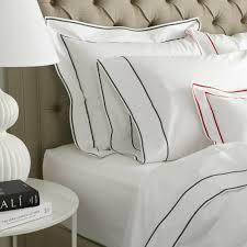 Doppelbett Ansonia Matouk Königin Creme Bettbezug