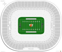 Edward Jones Dome Seating Chart Football The Dome At Americas Center Football Seating
