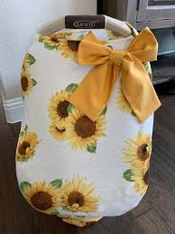 3 in 1 stretchy baby car seat cover