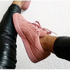 puma shoes for girls. shoes puma pink sneakers suede girl girls pastel pumas for e