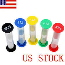 Set A Timer For 10 Minutes Details About Us 5pcs Set 30second 1 3 5 10minutes Hourglass Sandglass Sand Clock Timers