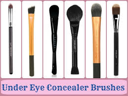 makeup brushes guide under eye concealer brushes