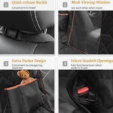 pet car seat covers waterproof cushion