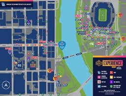 2019 Nfl Draft Map Visit Nashville Tn