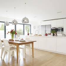 kitchen dining lighting ideas. Light-filled Kitchen-diner. I Like The Run Of Units Dividing Two Kitchen Dining Lighting Ideas H