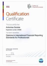 Что такое ifa Финменеджмент дистанционно Образцы Дипломов сертификатов по основным дисциплинам и спецкурсам