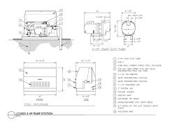 Lift Station Pump Design Rain Bird Cad Detail Drawings Lc Series Pump Stations