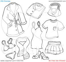 Small Picture Coloring Pages Clothes Printable Printable Coloring Coloring