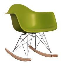 charles and ray eames furniture. Charles Ray Eames Style RAR Rocking Chair - Green And Furniture I