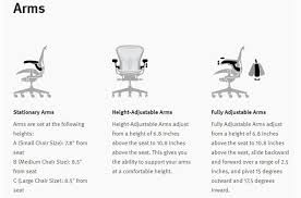 Aeron Miller Size Chart Herman Miller Aeron Chair Buying Guide Tips Advice At