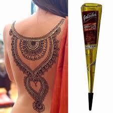новое поступление мини натуральные индийские татуировки хна паста