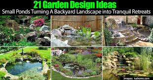Small Picture Adorable 90 Pond Garden Design Design Ideas Of Garden Pond Design