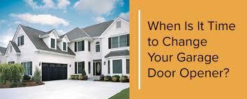 change your garage door opener white home with garage door