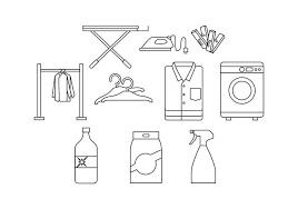 ランドリー素材 イラストダウンロード 専門的な背景 パターン フリー