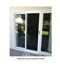 security screen doors. Sliding Security Screen Doors A