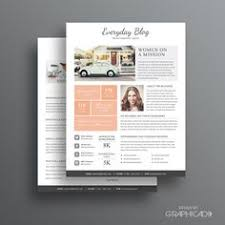 Media Kit Template 10 - Ad Rate Sheet Template - Press Kit Template ...