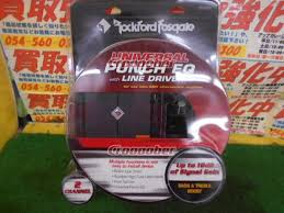 Rockford Rfpequ Hi Lo Converter Line Driver With Equalizer Other Accessories Croooober