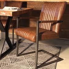 Brown Armchair Caleb Industrial Armchair Vintage Brown Leather Wazo Furniture