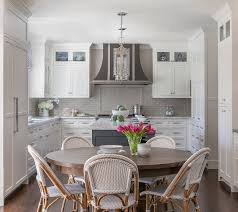 white kitchen grey backsplash. Unique Grey White Kitchen With Grey Backsplash Tile  By Walker Zanger With C