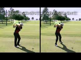Image result for happy gilmore swing pics