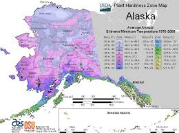 Alaska Usda Zones For Planting Trees And Plants